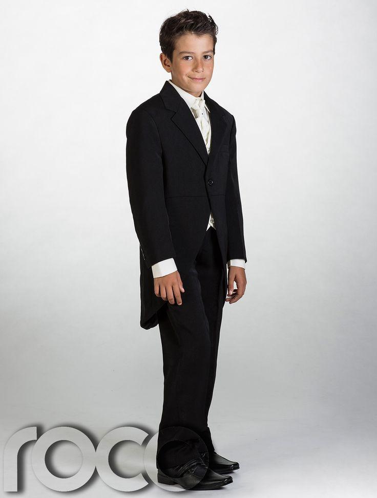 Boys Black Suit, Boys Morning Suits, Boys Tail Suit, Page Boy Suits | eBay