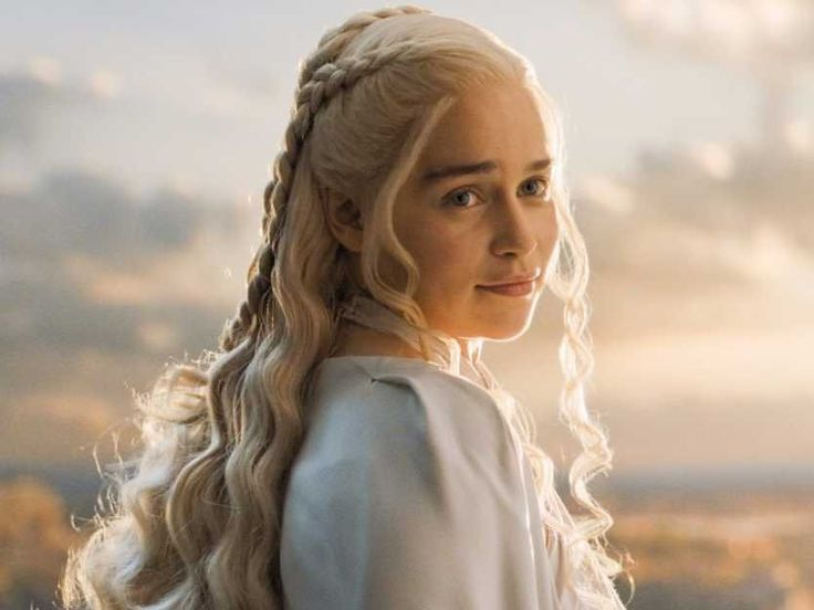 Game of Thrones Daenerys Targaryen Long Wavy Blonde Wig
