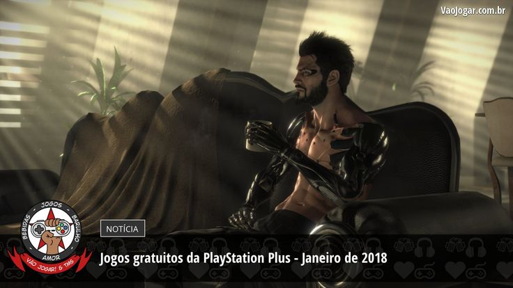 Adam Jensen e Bruce Wayne chegam para fazer a felicidade dos assinantes da PlayStation Plus no ano novo.  #PlayStationPlus #PlayStation4 #PS4 #PlayStation3 #PS3 #PlayStationVita #PSVita #VaoJogar #VideoGames #Games #InstaGames