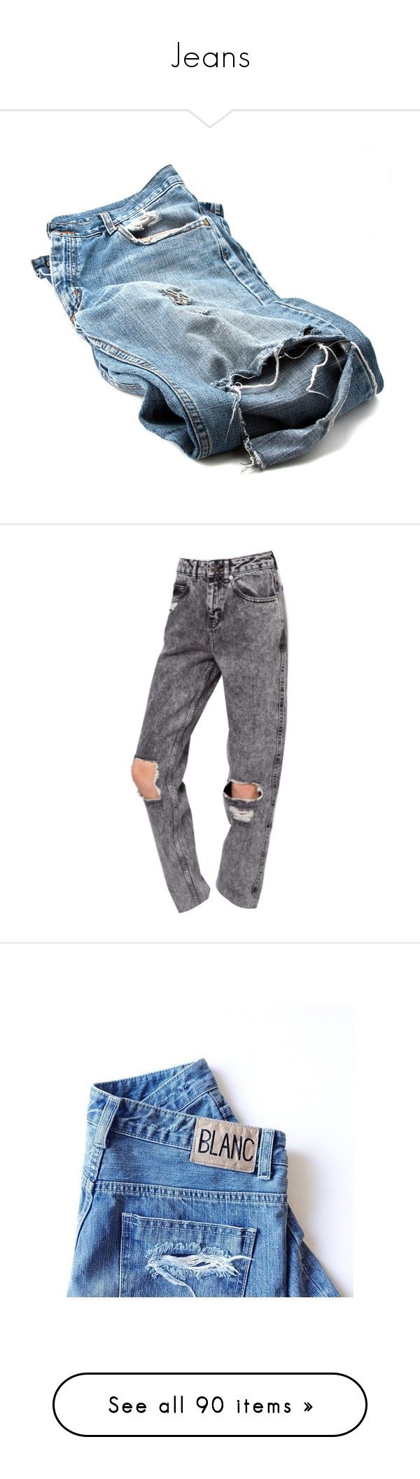 """""""Jeans"""" by haya22s ❤ liked on Polyvore featuring jeans, pants, bottoms, denim, denim jeans, blue jeans, blue denim jeans, black, cheap monday skinny jeans and cheap monday jeans"""