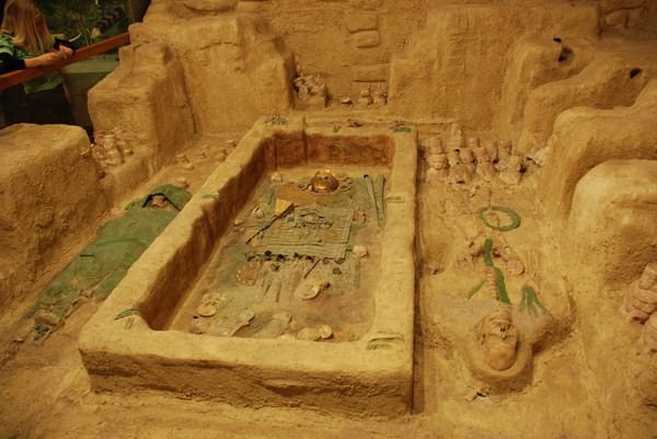 The shockingly unspoiled Peruvian tomb of the Lord of Sipan was once guarded by a footless warrior