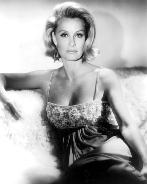 Dina Merrill (born Nedenia Marjorie Hutton; December 29, 1923 – May 22, 2017) was an American actress, heiress, socialite, businesswoman, and philanthropist. Merrill's film credits included Desk Set (1957), A Nice Little Bank That Should Be Robbed (1958), Don't Give Up the Ship (1959), Operation Petticoat (1959, with Cary Grant, who had been married to her cousin and many more parts in film. She died from dementia May 22 2017 at the age of 93.