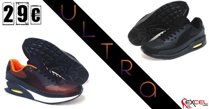 Ανδρικά αθλητικά παπούτσια σε δύο χρώματα!