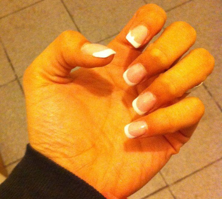 Manicura Francesa, lindas! #Nails