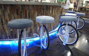 Recycling alter Fahrradfelgen und ihre Verwertung im Garten und Innenraum_barhocher selber bauen