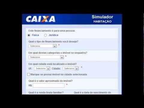 Simulador CAIXA Compra de Terreno - Utilizar o simulador de habitação da Caixa é muito simples. Se você tem alguma dúvida é só visitar o nosso site