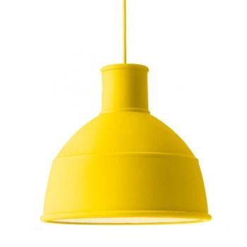 Lampada Unfold, gialla