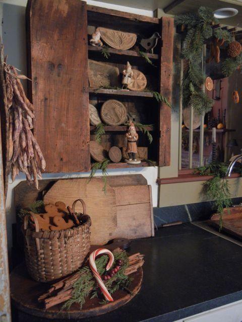 Meer dan 1000 idee n over prim decor op pinterest primitieve decoratie primitieven en - Decoratie new england ...