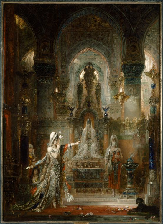 Gustave Moreau isrecognised as a founder of the Symbolist movement in France, although his paintings in this style began being exhibited some 15 years before the movement is considered to h…