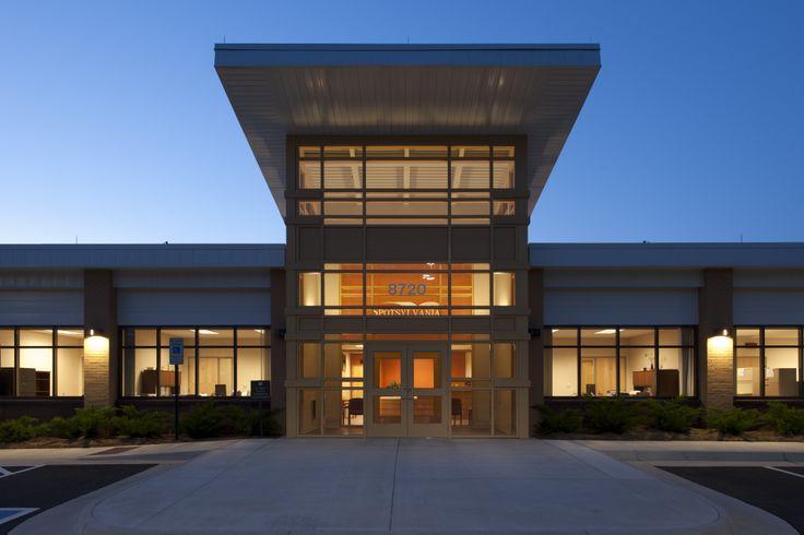Spotsylvania County Schools Maintenance Headquarters (Virginia) / Peck Peck and Associates (Eric Taylor Photography) #sustainable #virginia #architect  #localgov #ppa #Spotsylvania #headquarters #architecture