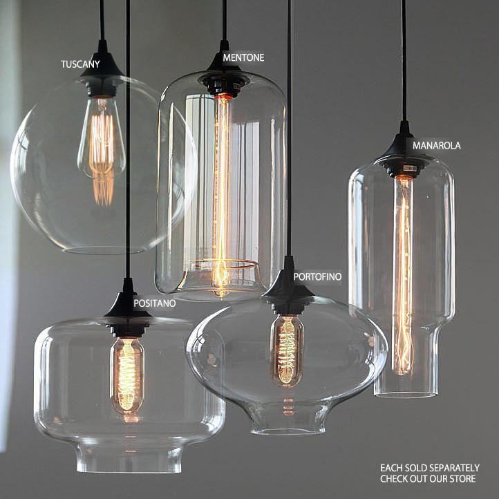 Tuscany Round Glass Pendant Light Glass Pendant Light Glass