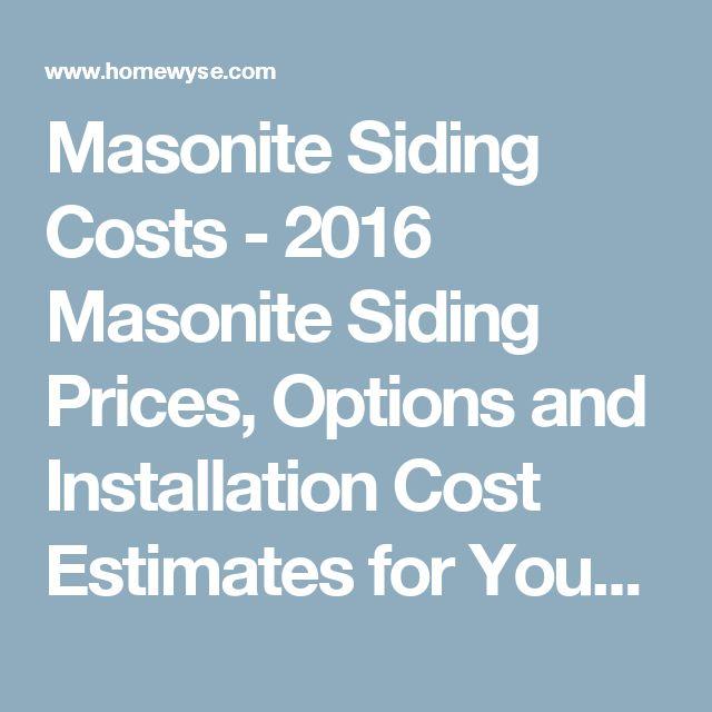 25 Best Ideas About Masonite Siding On Pinterest Garage Door Motor Garage Door Track And