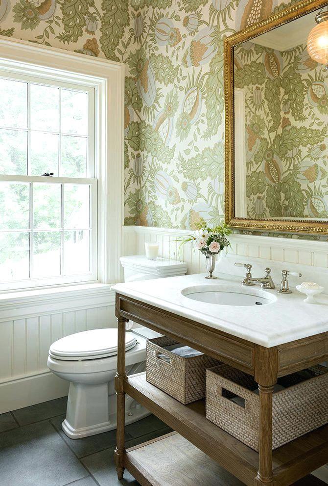 Halbe Bad Tapete Halbe Tapete Genel Home Decor Mirrors Mirror Decor Home Decor