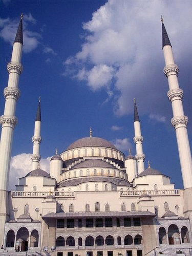 Kocatepe Mosque, Ankara #mosques #turkey