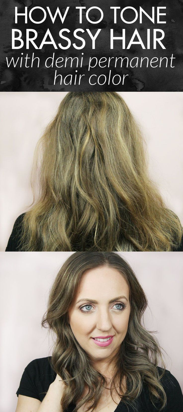 how to color your hair two different colors at home
