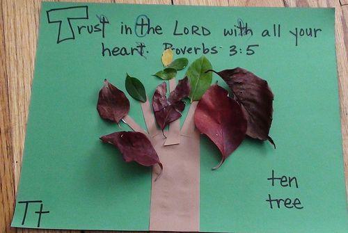 alphabet scripture crafts