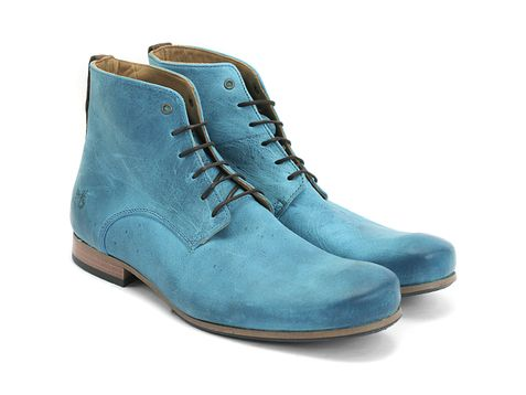 Check out the Fluevog PLR. Sweet Jesus, they're teal.