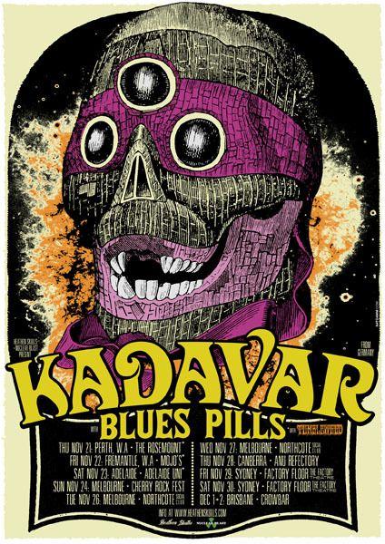 GigPosters.com - Kadavar - Blues Pills