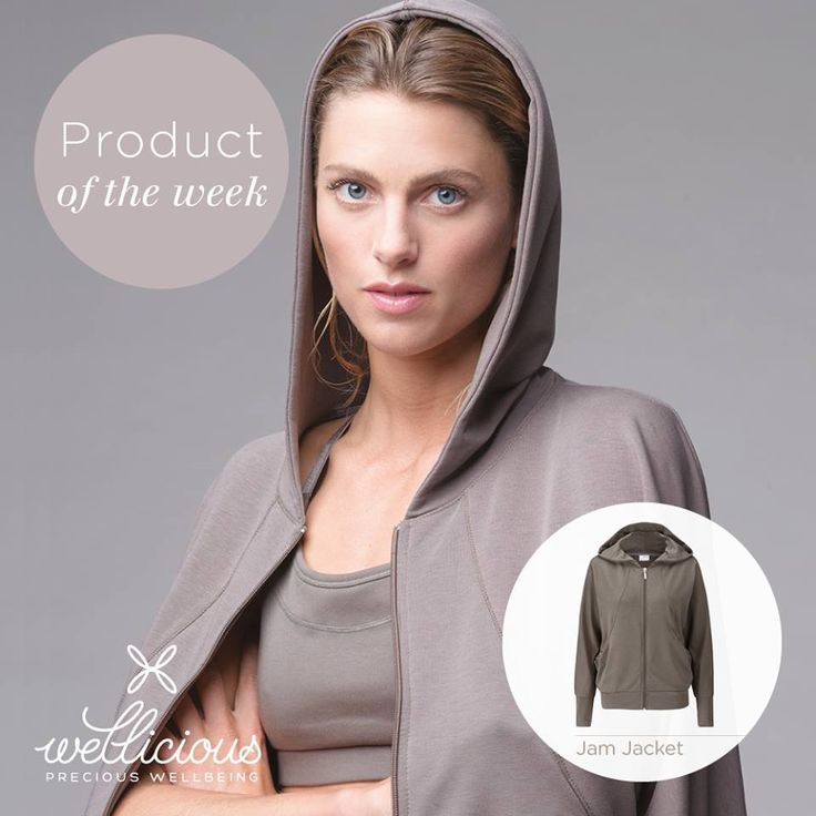 Looking for that perfect 'after class' jacket? We have just the thing, our Jam Jacket is made from a super soft blend of eco-friendly Tencel and Organic Cotton. In a cool Calm grey colour or our perfect summer Powder, this jacket is sure to be the perfect addition to any work out!  Shop now: www.wellicious.com/jam-jacket.html ‪#‎BeWellicious‬ ‪#‎ProductofTheWeek‬ ‪#‎POW‬