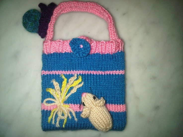 A commissioned handbag for a little girl