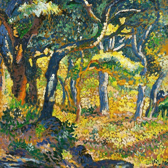 Neo Impressionism: Clearing In Provence By Henri-Edmond Cross