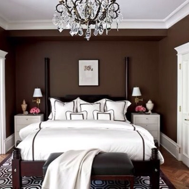 All Around This Bed We Also Provide Decoration To Add To The Luxury Bedroom  Design Brown ...