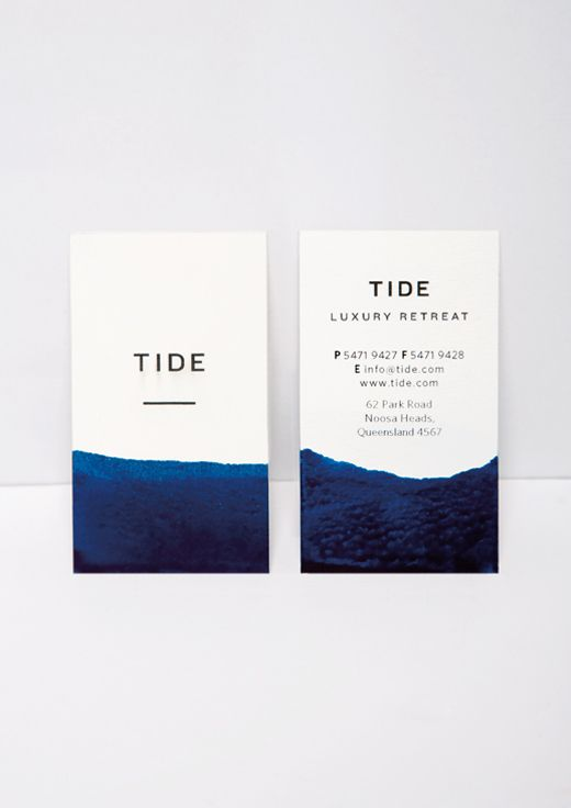 Stationery / Bland Designs - Tide Retreat