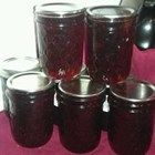 Jams and Jellies caned recipes