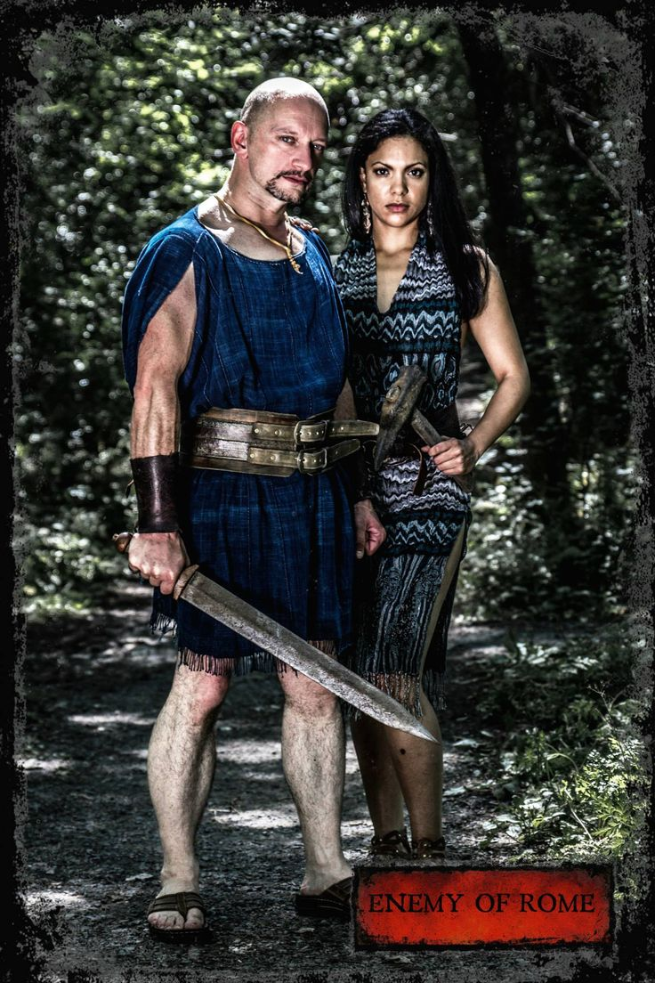 Vitellius and Malina, Enemy of Rome