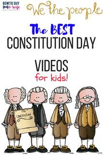 Kid-Approved Constitution Day Videos - Bowtie Guy