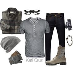Rugged Winter by keri-cruz on Polyvore featuring Jack & Jones and Maison Margiela