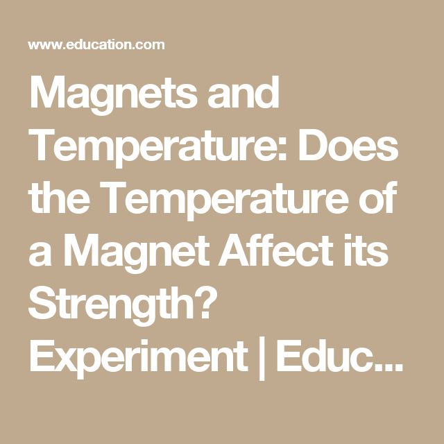 electromagnet and how it affects it essay Electromagnets are found in motors, tape decks, hard drives, vcrs and tons of  other devices find out what makes an electromagnet 'electro' and learn how to.