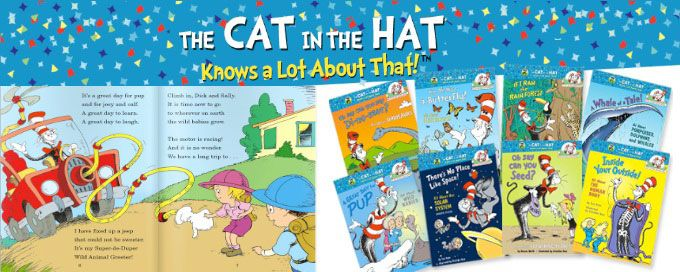 Cat in the Hat Science & Nature Book Series only $34.99 (Reg $64.72) {affiliate}