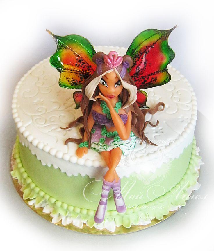 Cake WinX. Flora.