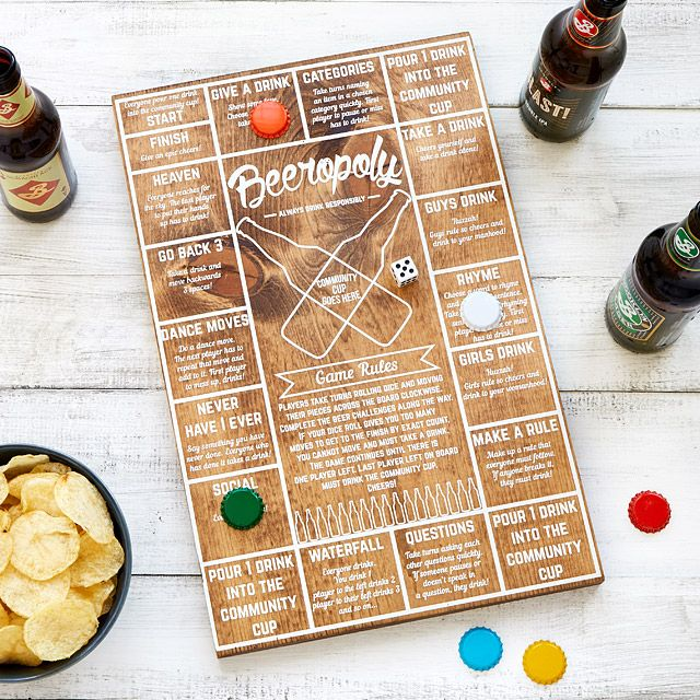 Perfect for parties or just to start the weekend right, Beeropoly invites players to quaff their way through a series of beer challenges- from a rhyming competition to demonstrating their best dance moves.