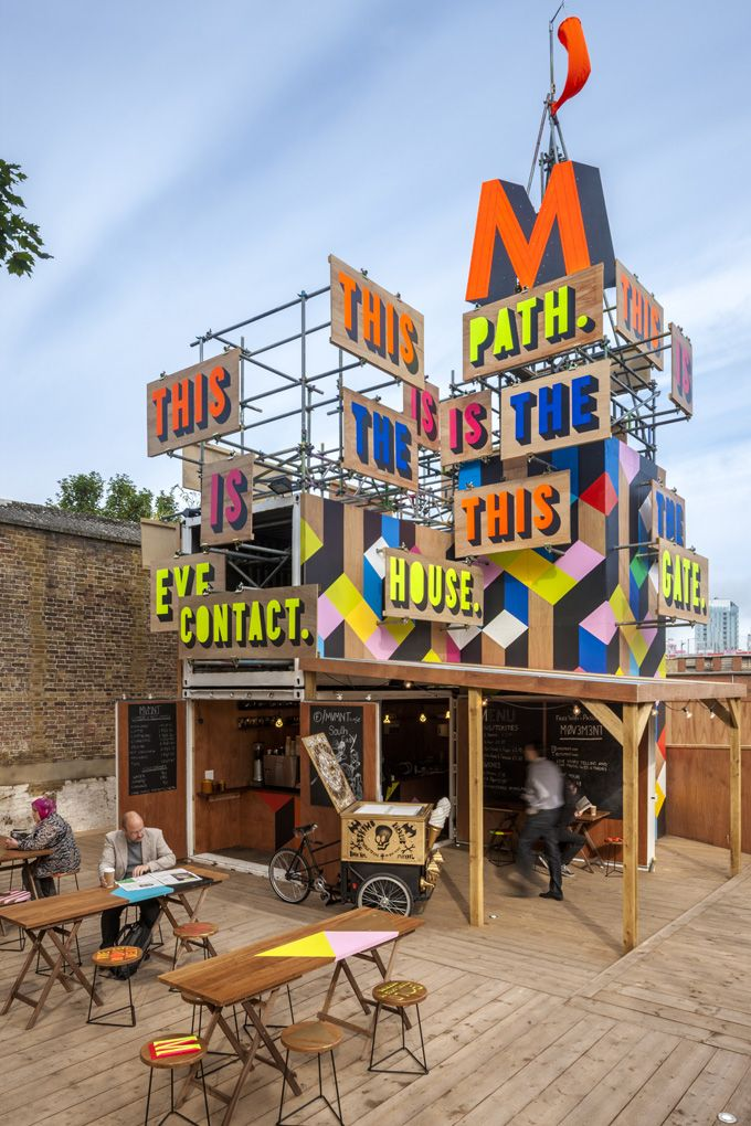 Movement Pop Up Cafe, London via The Cool Hunter