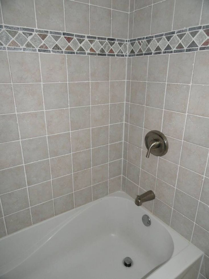 17 Best Images About Bathroom Makeover Ideas On Pinterest: best way to tile around a bath