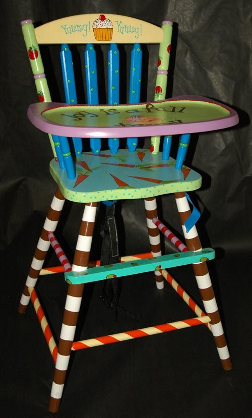 Painted High Chair                                                                                                                                                                                 More