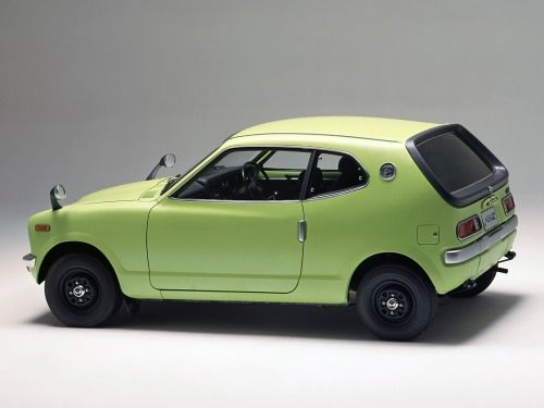 """Honda Z coupe (1970 - 74) came with an air cooled 354cc 2 cylinder engine or the sportier Z600 - with a 598cc engine. It originally sold at Honda Motorcycle dealerships until the arrival of the Civic & Honda Car dealers. At first they arrived as a """"kit."""""""