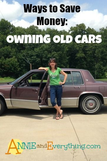An analysis of one of the best ways to save money -- owning an old car vs. buying a newer one.