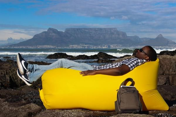 Yellow CLOUD - air lounger