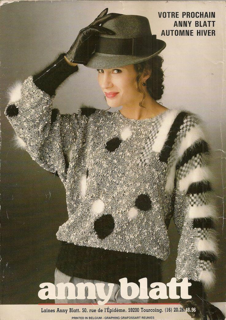 MAGAZINE ANNY BLATT N°112 tricot SPECIAL COUTURE : Autres Tricot et Crochet par…