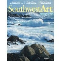 Southwest Art April 2014 | NorthLightShop.com ON SALE  NOW!