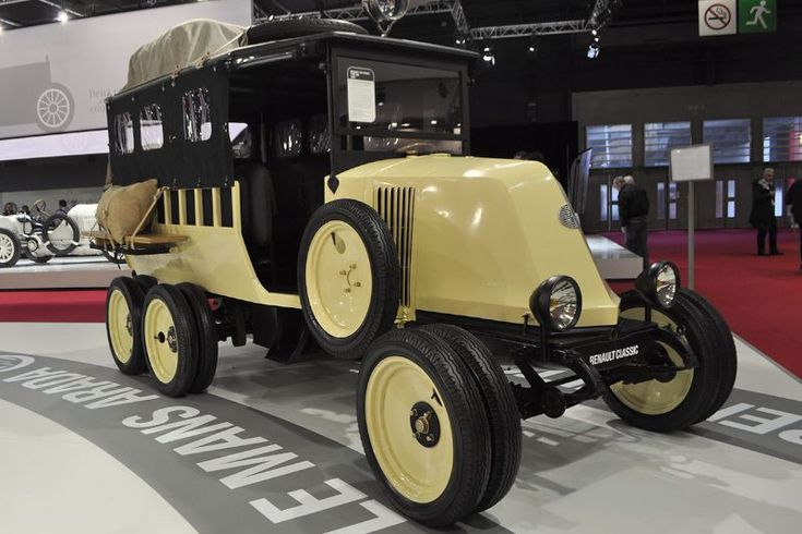 Antique Vintage Cars >> Renault Type MH Six-Roues - 1924 | Ancient Cars ( 1900-1949 ) | Pinterest | Salons, Cars and Vehicle