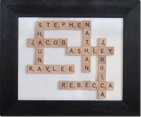 17 Best Images About Scrabble Tile Ideas On Pinterest