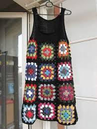 Resultado de imagen para Grannys Squares calados para blusas