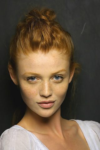 Cintia Dicker, I think I like her hair, eyes and freckles too much