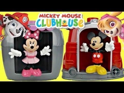 MICKEY MOUSE CLUBHOUSE full episodes: Disney Mickey Mouse Funny Surprise Eggs Toys and Candy Video https://youtu.be/M4io6FNWklQ
