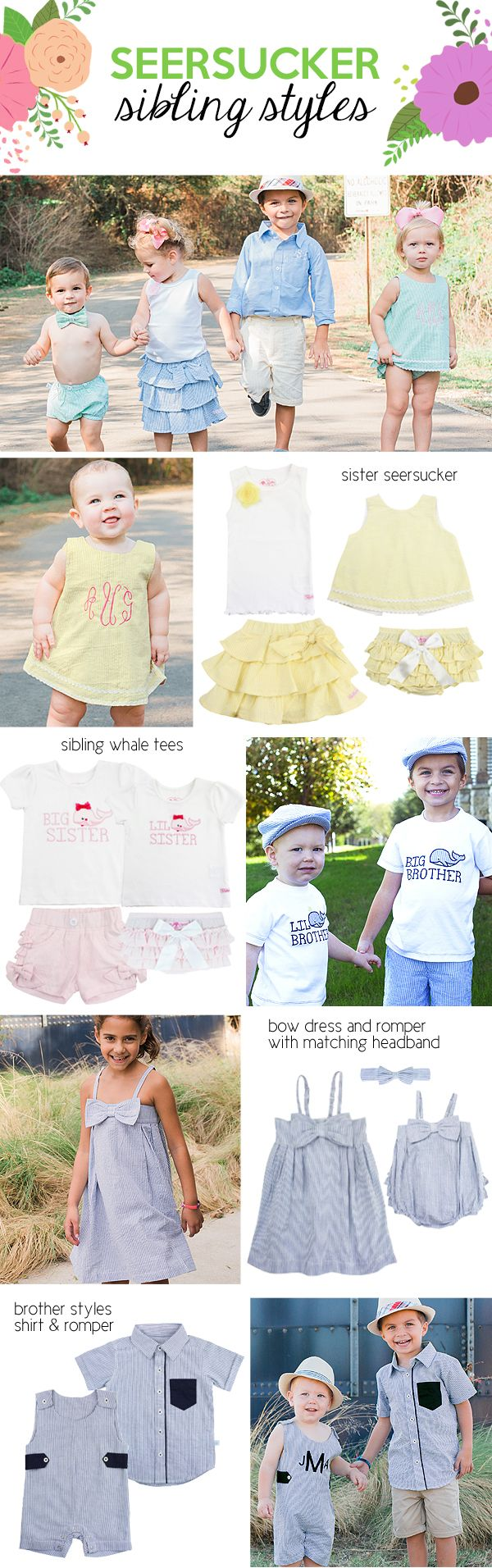 RuffleButts & RuggedButts are boutique brands for kiddos offering fun & stylish apparel perfect for your little siblings!