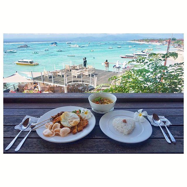 【_ayami.y_】さんのInstagramをピンしています。 《. 雨季だったのに全然雨降らなかった😍 . . . . . . . . #カメラ #blue #バリ旅行 #旅行 #trip #travel #photo #veiw  #景色#beach #ビーチ#海 #lunch #バリ料理#bali#Indonesia#バリ#インドネシア#beautiful #南国 #sun#sea#sky#sunny》